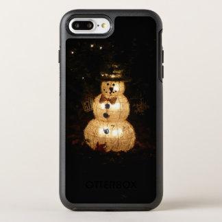 Snowman Holiday Light Display OtterBox Symmetry iPhone 8 Plus/7 Plus Case