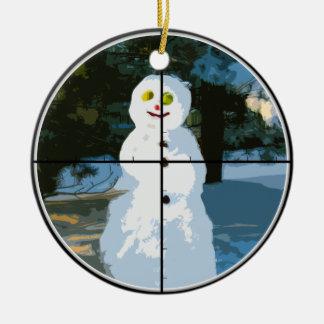 Snowman in Sight Ornament