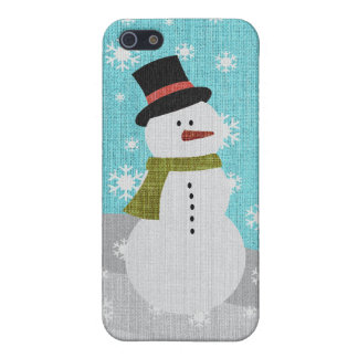 Snowman iPhone 5/5S Covers
