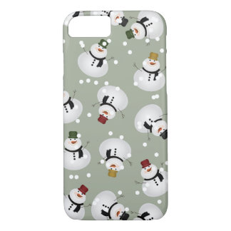 Snowman iPhone 7, Barely There iPhone 7 Case