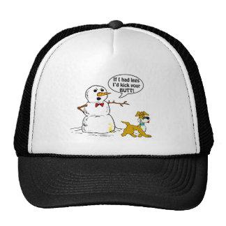 Snowman Joke Trucker Hat