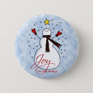 Snowman Joy Button