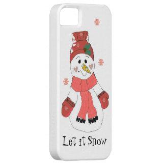 Snowman Let it Snow iPhone 5 Case