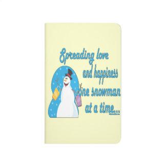 Snowman Love Journal