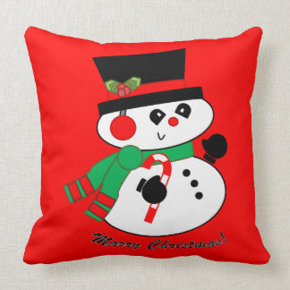 Snowman-Marry Chistmas pillow
