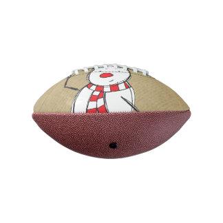 Snowman Mini Football
