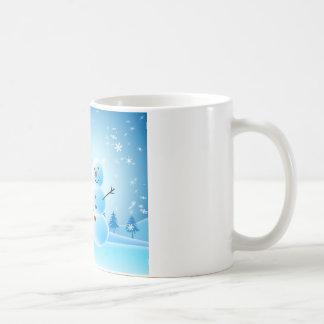 Snowman mug