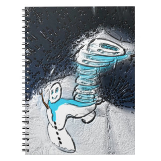 Snowman Notebook