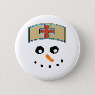 Snowman nurse button