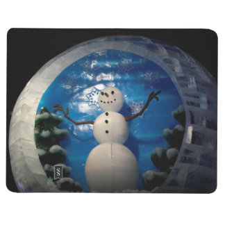Snowman on Ice Journals