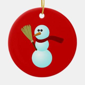 SnowMan Ornament 5 (Personalize)
