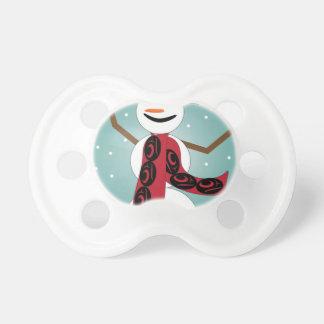 Snowman Pacifier