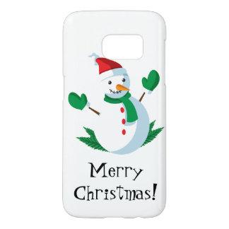 Snowman phone case