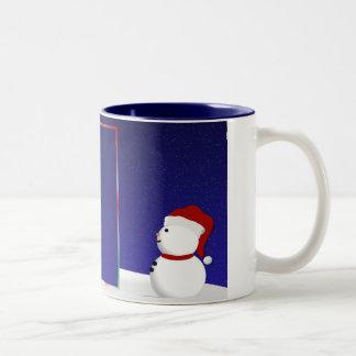 Snowman Photo Mug
