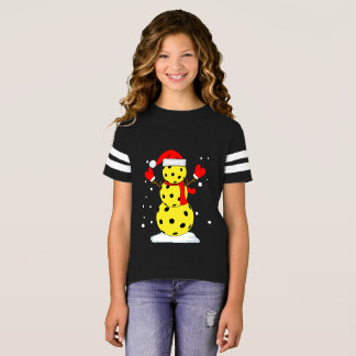 Snowman pickle T-Shirt Funny Christmas Gift Shirt
