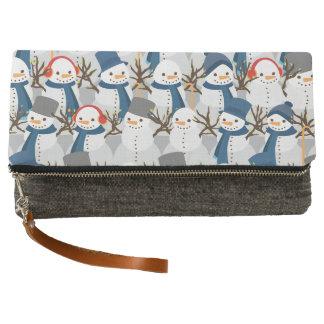 Snowman Pile Clutch