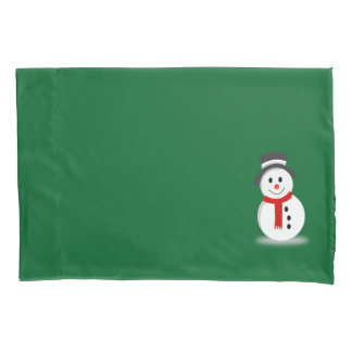 Snowman Pillowcase