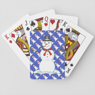 Snowman Playing Cards
