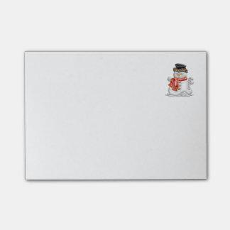 Snowman Post-it Notes