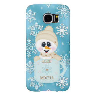 Snowman Samsung Galaxy s6 Mocha barely there case