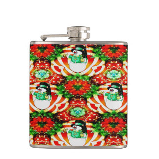 Snowman Slam Hip Flask