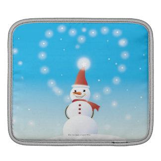 Snowman Sleeve For iPads