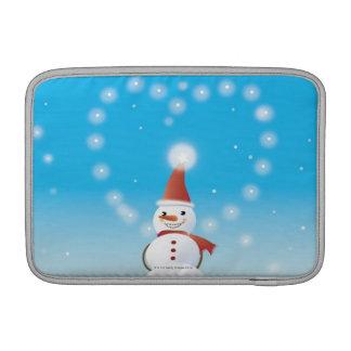 Snowman Sleeve For MacBook Air