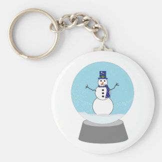 Snowman Snow globe Christmas gifts Key Chains