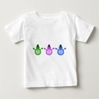 Snowman Snow Man Chill Winter Design Baby T-Shirt