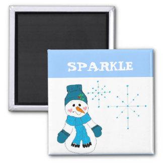 Snowman - Sparkle Magnet