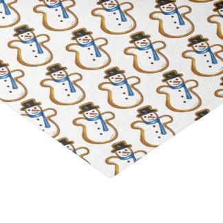 Snowman Sugar Cookie Hanukkah Christmas Holiday Tissue Paper