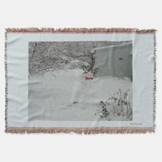 Snowman throw