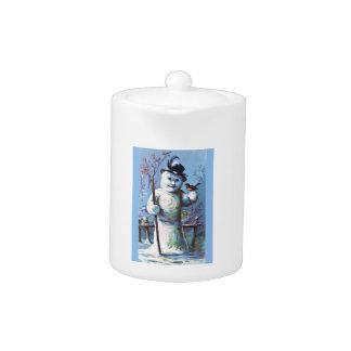 Snowman - vintage-santa-christmas-post-cards-0063