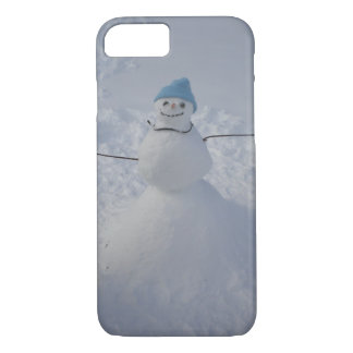 snowman winter wonderland iPhone-7 Case