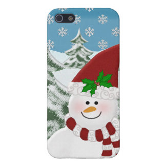 Snowman: Winters Beauty iPhone 5/5S Cover