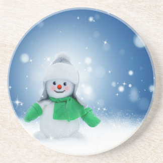 Snowman Wishes Coaster