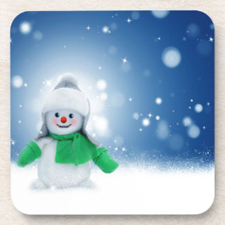 Snowman Wishes Coasters