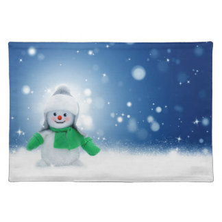 Snowman Wishes Placemat