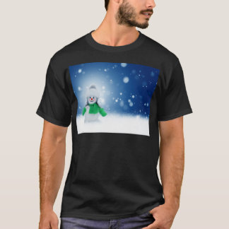 Snowman Wishes T-Shirt