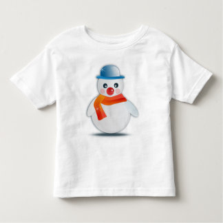 Snowman with s Nose Toddlers Shirt