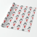 Snowman Wrapping Paper (Plain)