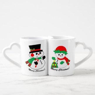 Snowman's couple - Marry Christmas Mug