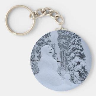 Snowman's Paradise Keychain