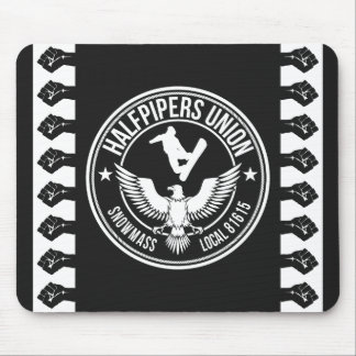 Snowmass Halfpipers Union Mouse Pad