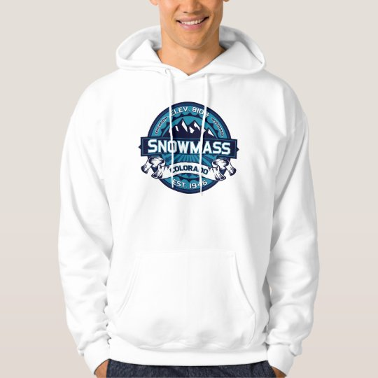 Snowmass Logo Ice Hoodie