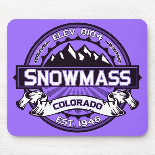 Snowmass Mousepad Purple