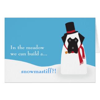 Snowmastiff Card