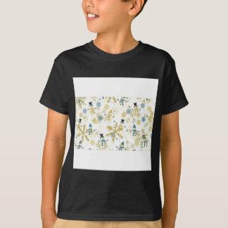 Snowmen and flakes T-Shirt