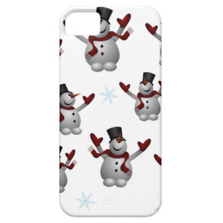 Snowmen and Snowflakes Case For The iPhone 5