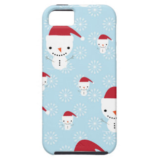 Snowmen and snowflakes iPhone 5 cases